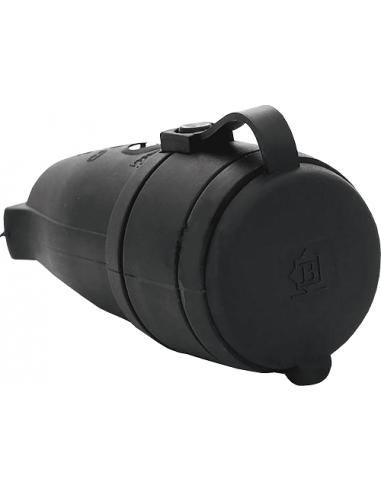 Роз'єм с заглушкой 1х16А каучук IP44 Bemis