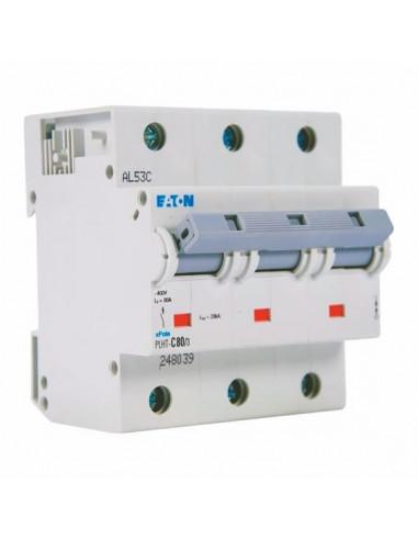 Автоматический выключатель PLНТ 3Р C 80А Eaton