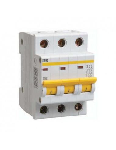 Автоматический выключатель ВА47-29 3Р 63А (4.5кА) С IEK