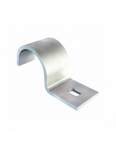 Скоба металлическая односторонняя 25мм OBO