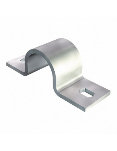 Скоба металлическая двухсторонняя 25мм OBO