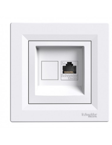 Розетка Schneider Asfora компьютерная белая EPH4400121
