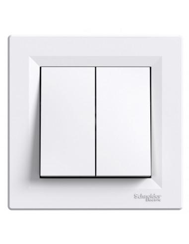 Выключатель Schneider Asfora 2кл белый EPH0300121
