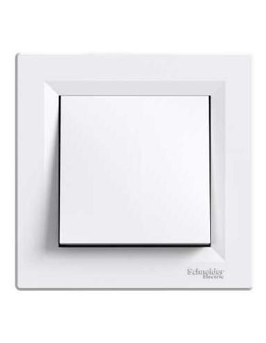 Выключатель Schneider Asfora 1кл самозажимной белый EPH0100221