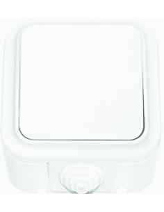 Выключатель 1кл брызгозащищенный А1 6-222 ІР44 Пралеска Аква